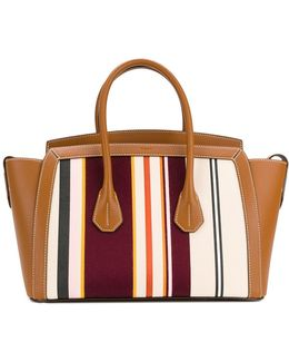Striped Oversized Tote