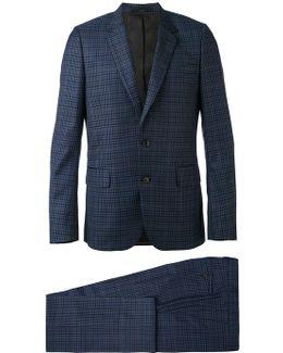 Plaid Two-piece Suit
