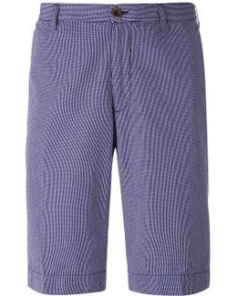 Check Pattern Shorts