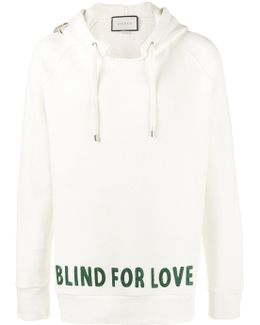 Blind For Love Embroidered Hoodie