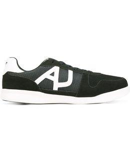 Mesh-panelled Sneakers