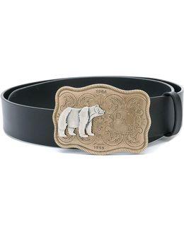 Bear Buckle Belt