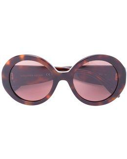 Mini Stud Round Frame Sunglasses