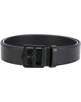 Slim Buckle Belt