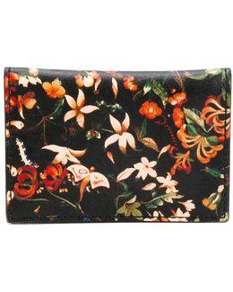 Floral Folded Card Holder