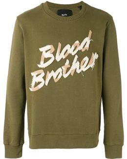 Appliquéd Sweatshirt