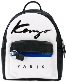 Small Signature Backpack