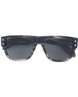 Mini Rivets Oversized Sunglasses