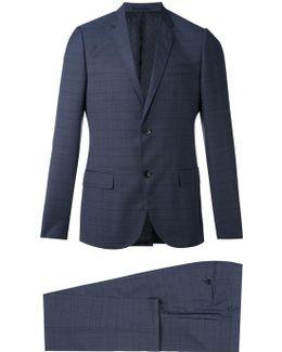 Monaco Selvage Checked Suit