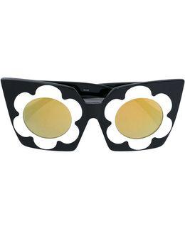 Chunky Daisy Sunglasses