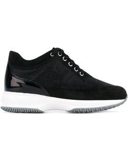Contrast Sole Sneakers