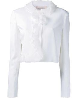 Organza Ruffled Jacket
