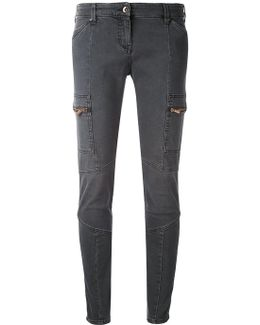 Panelled Skinny Jeans