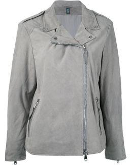 Loose-fit Biker Jacket