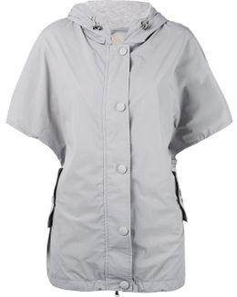 Shortsleeved Hooded Jacket