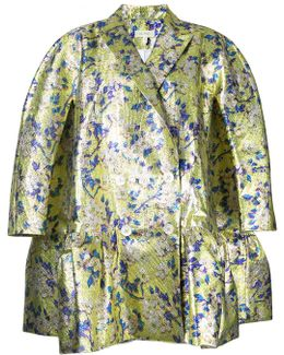 Floral Loose-fit Jacket