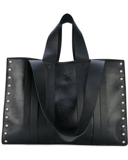 Constanza Large Tote With Studs
