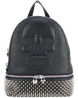 Studded Skull Backpack
