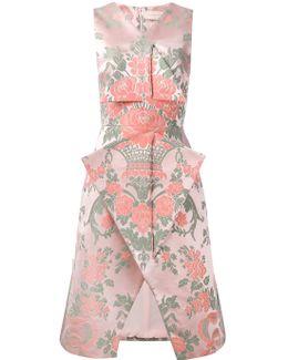 Jacquard Velcro Midi Dress