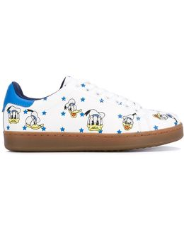 Donald Duck Print Sneakers