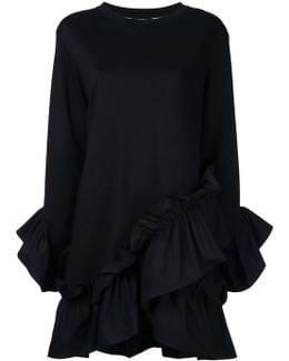 Ruffled Trim Dress
