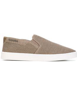 Glittery Slip-on Sneakers