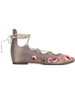 'indra' Ballerina Shoes