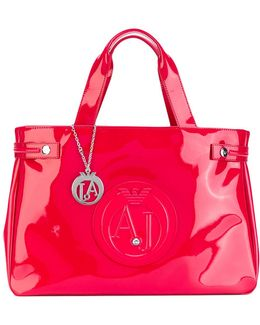 Logo Embossed Tote