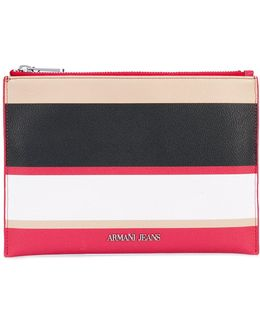 Striped Wallet