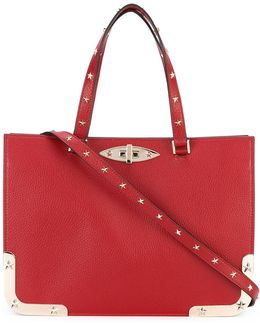 Star Studded Structured Tote