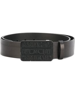 Denim Buckle Belt