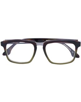 'burton' Square Frame Glasses