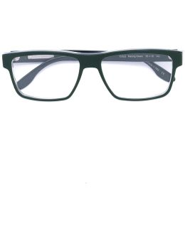 'cole' Square Frame Glasses