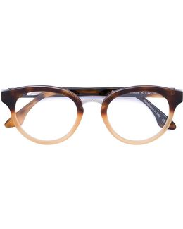 'rixon' Oval Frame Glasses