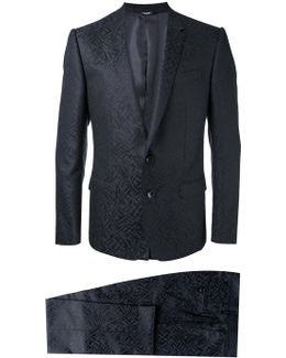 Jacquard Martini Suit