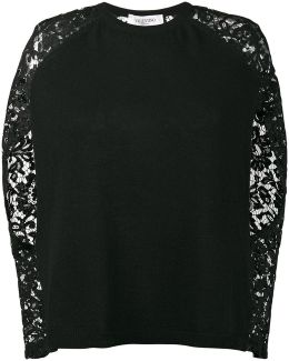 Lace Long Sleeve Jumper