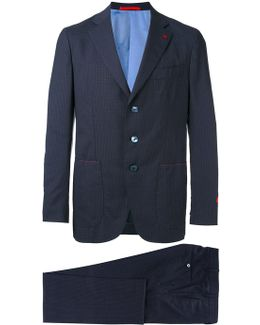 Embroidered Two Piece Suit