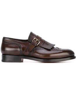 Fringed Monk Shoes