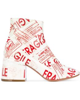 Fragile Tape Boots