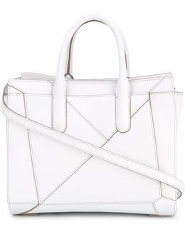 Folded Detail Tote