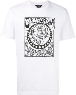Stained Glass Print T-shirt