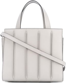 Ribbed Effect Tote