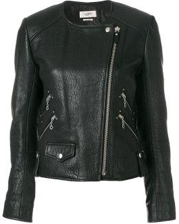 Kankara Textured Biker Jacket