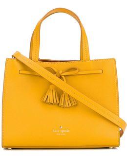Tassels Applique Shoulder Bag