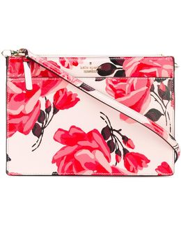 Floral Print Crossbody Bag