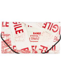 Printed Faux Leather Wallet
