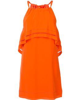 Ruffled Detail Dress