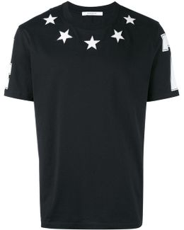 Embroidered Stars T-shirt