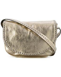 Studded Trim Shoulder Bag