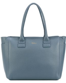 Grained Effect Tote